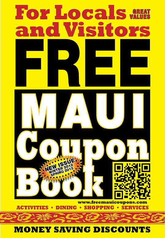 Maui Coupon Book cover