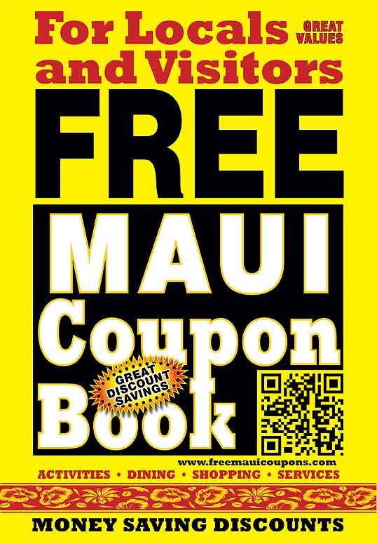 FREE COUPONS FOR MAUI HAWAII