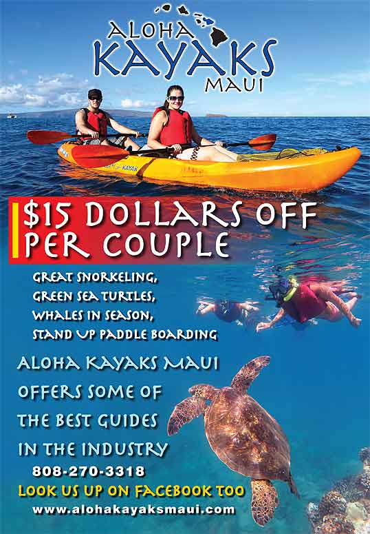 Hawaii discount activities coupon