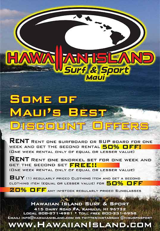 Maui discounts and coupons